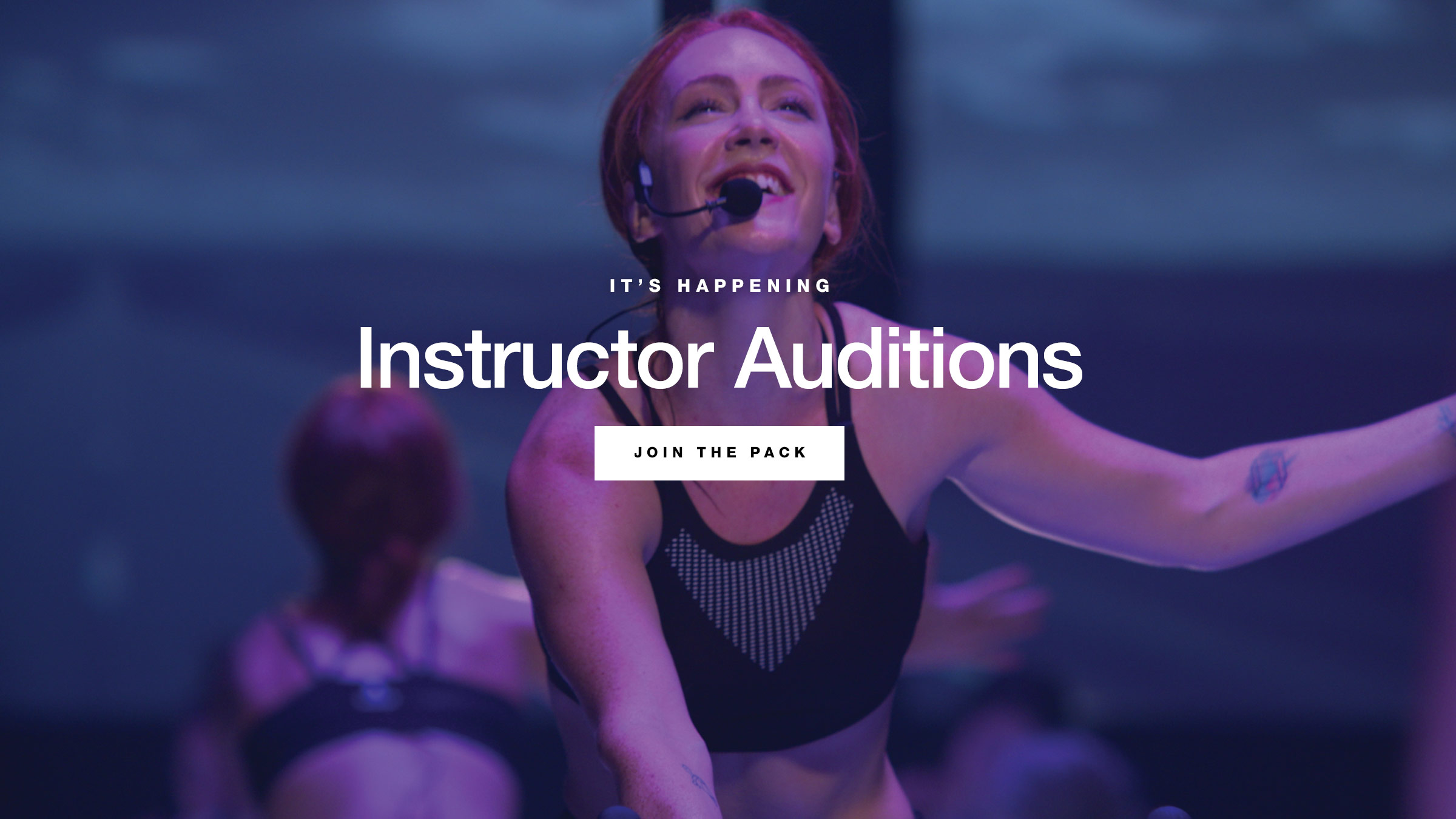 Spring Instructor Auditions