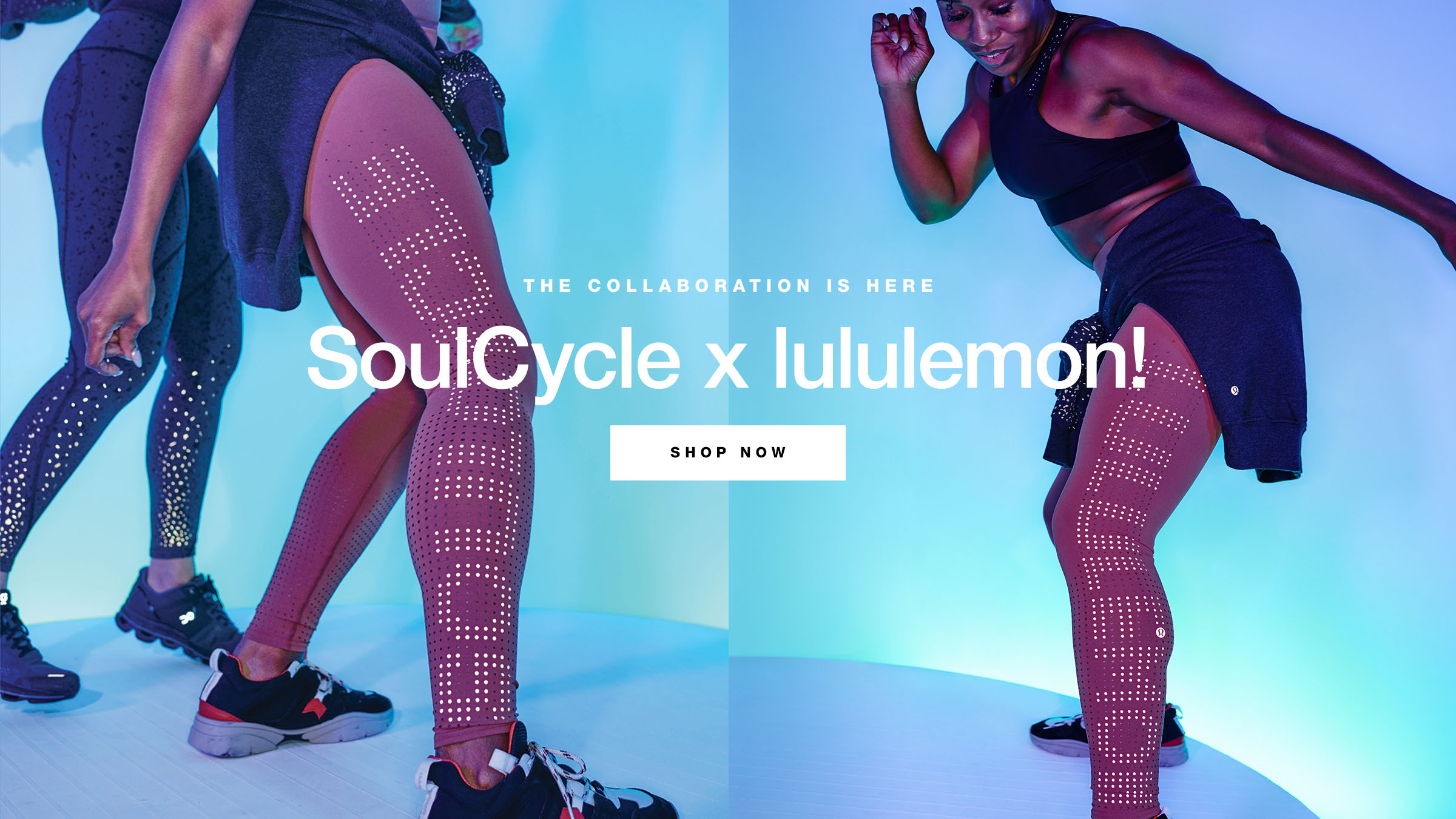 SoulCycle x Lululemon Retail Launch