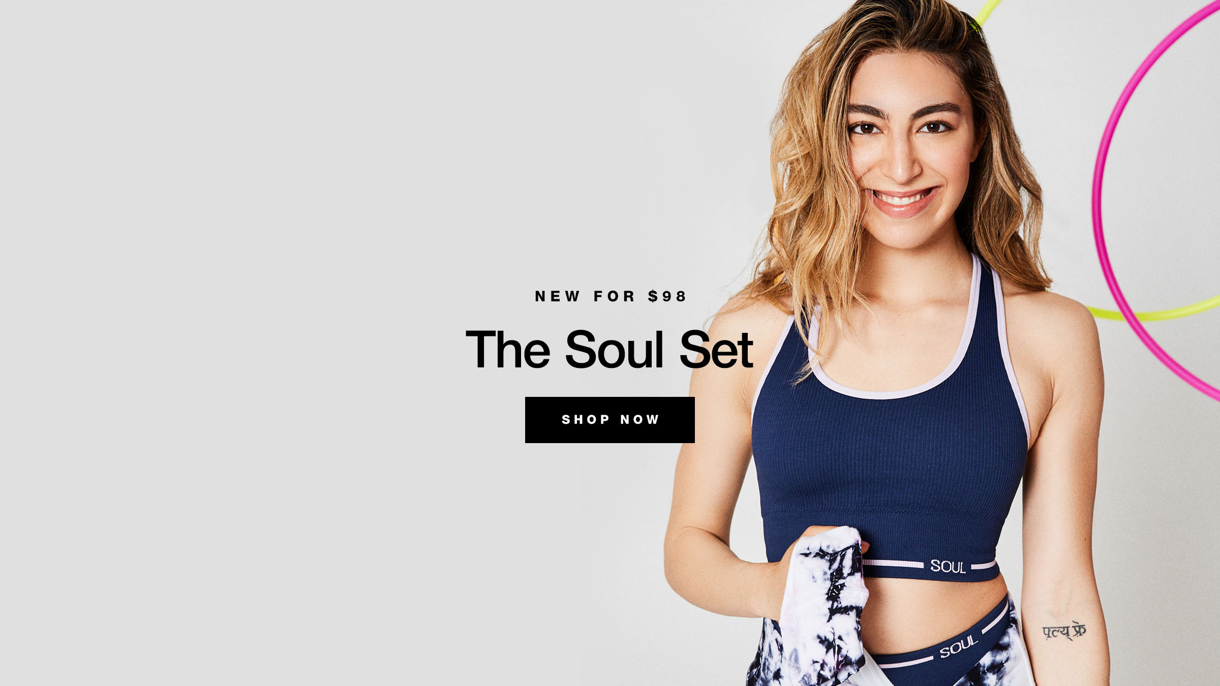 Soul by Soulcycle - Mid May Retail Launch