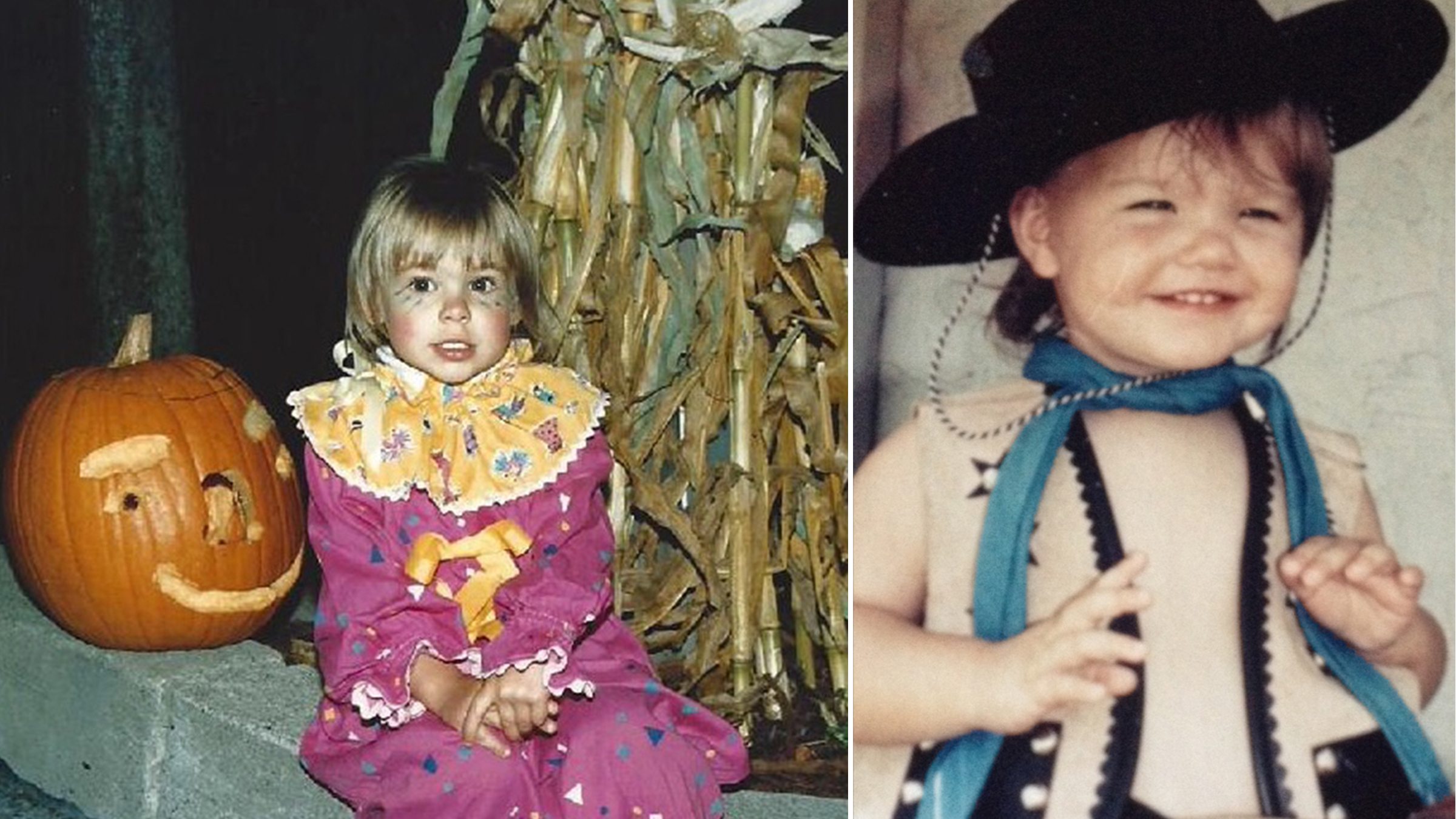 12 instructors share their favorite childhood halloween costumes